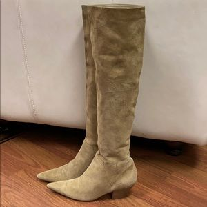 Nine West World Class Suede Boots